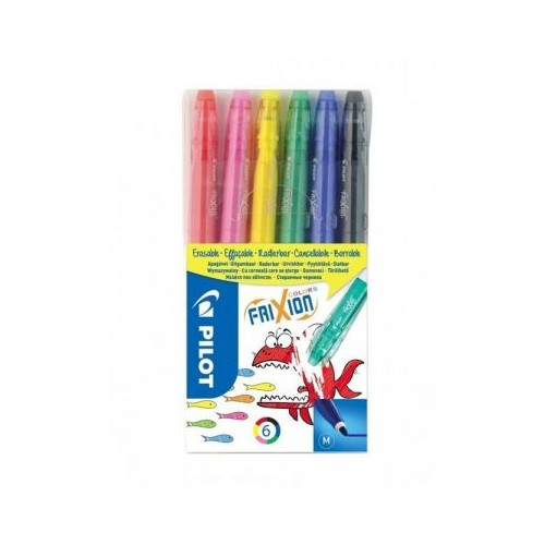 Flamastry Color Frixion A'6 + 1 gratis