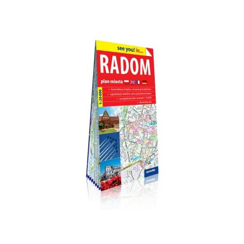 Radom - plan miasta 1:20 000 see you in...